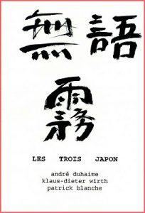 couverture des Trois Japon