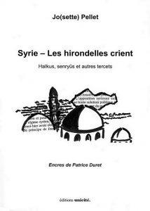 couverture de Syrie - Les hirondelles crient