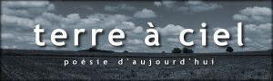 logo de la revue de poésie Terre à ciel