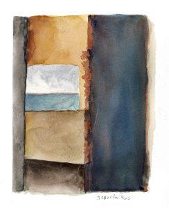 aquarelle de Roger Groslon n° 7